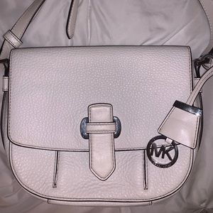 White Michael Kors Crossbody
